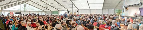 DH Festival Zelt
