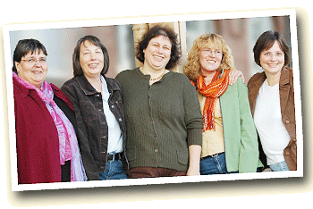 die Frauen der WegGemeinschaft Cuxhaven