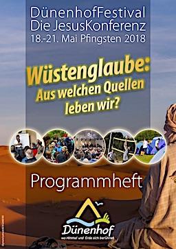Festival Programmheft 2018