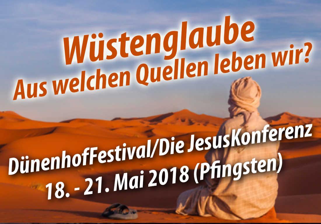 """DünenhofFestival / Die JesusKonferenz 2016 """"BeziehungsWeise"""""""