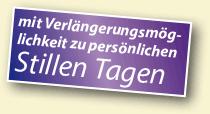 Stille Tage verlängern ab 37,-EUR/49,-EUR